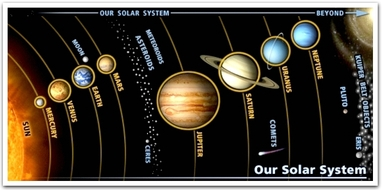 1st step: Choose a planet (Mercury, Venus, Earth, Mars, Jupiter ...